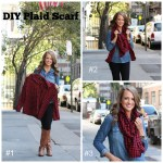 Plaid Scarf Tutorial