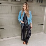 Spring Ready: Striped Jumpsuit