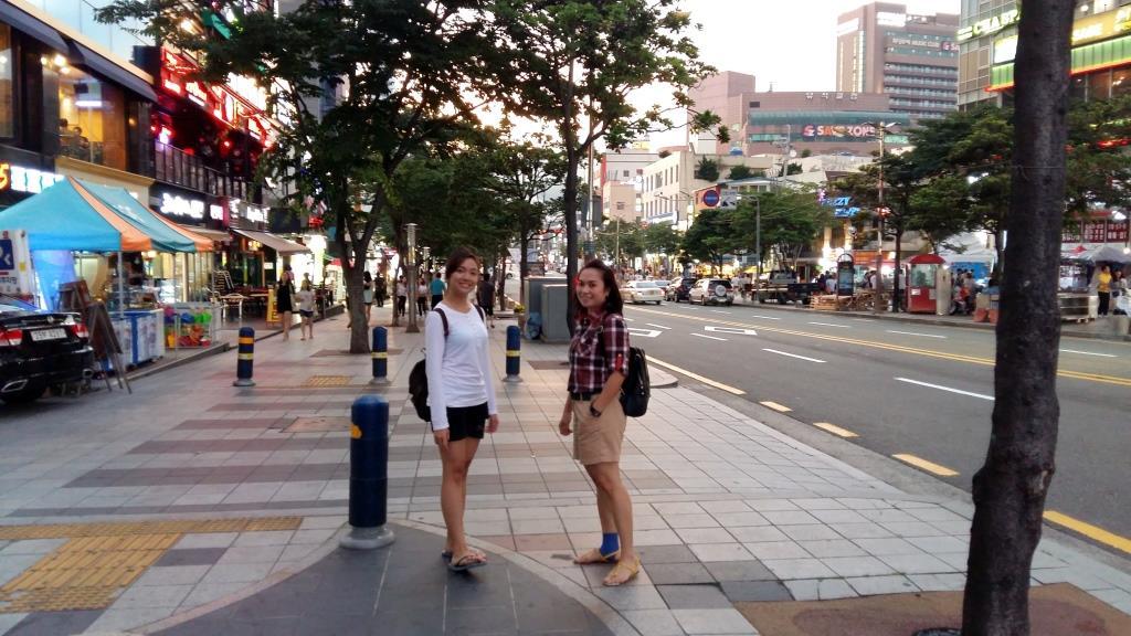 Traveling Visiting Haeundae Beach Busan South Korea