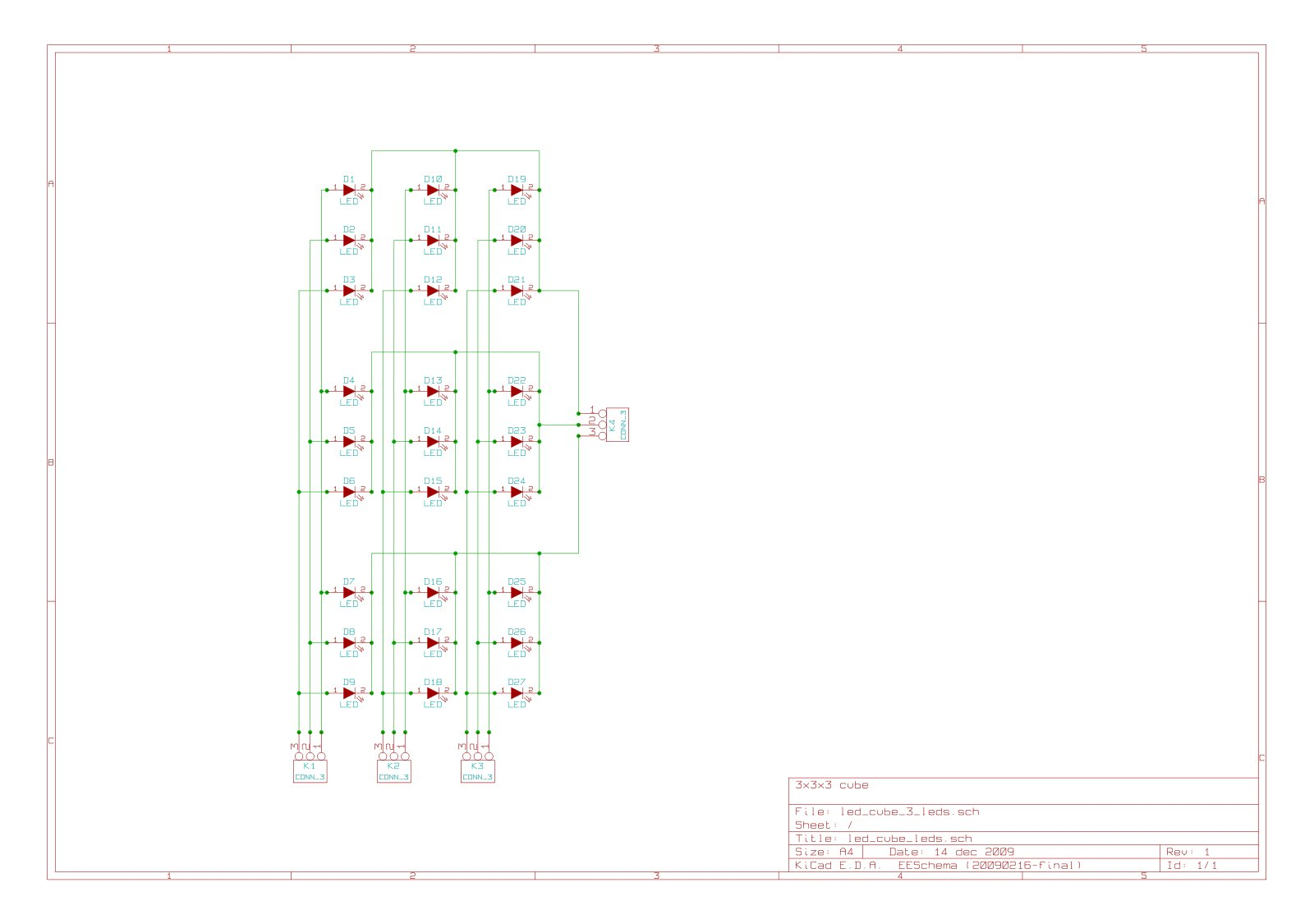 hight resolution of schematic controller board wiring 3x3x3 cube