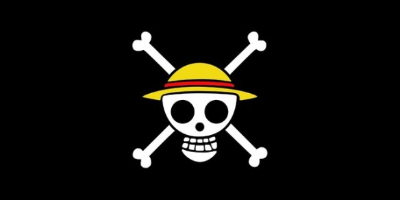 Drapeau pirate One Piece