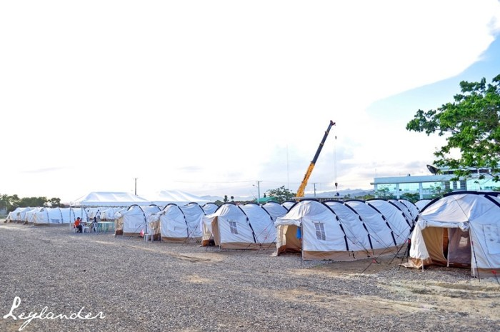 Visiting the Tent City at the South Road Properties in Cebu City