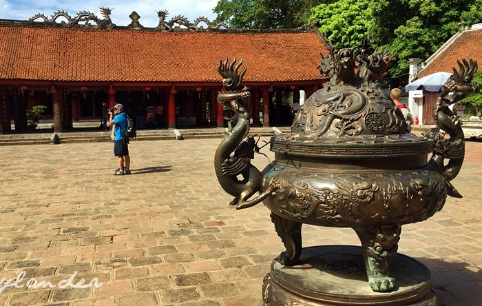 First Stop: Temple of Literature in Hanoi, Vietnam