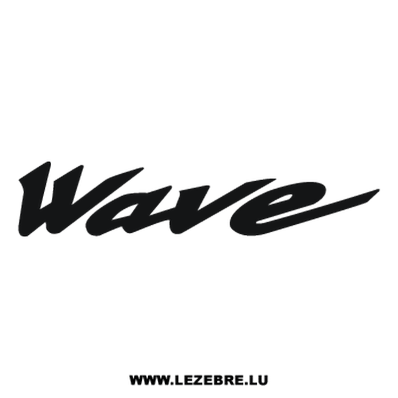 Honda Wave Decal