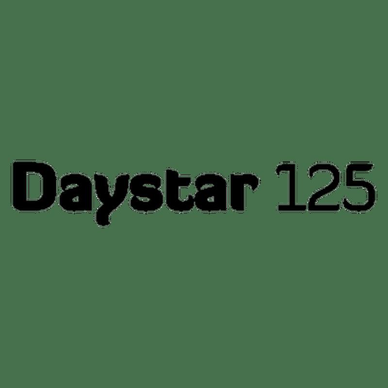 Sticker Daelim Dayster 125 logo