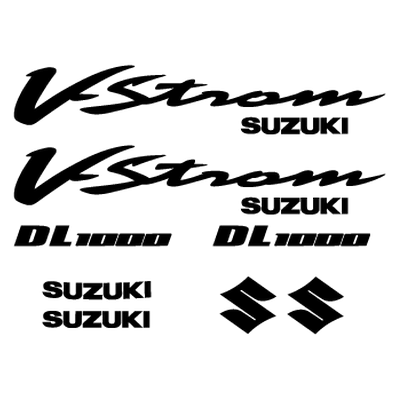 Suzuki V-Strom DL 1000 Year 2002 decals set