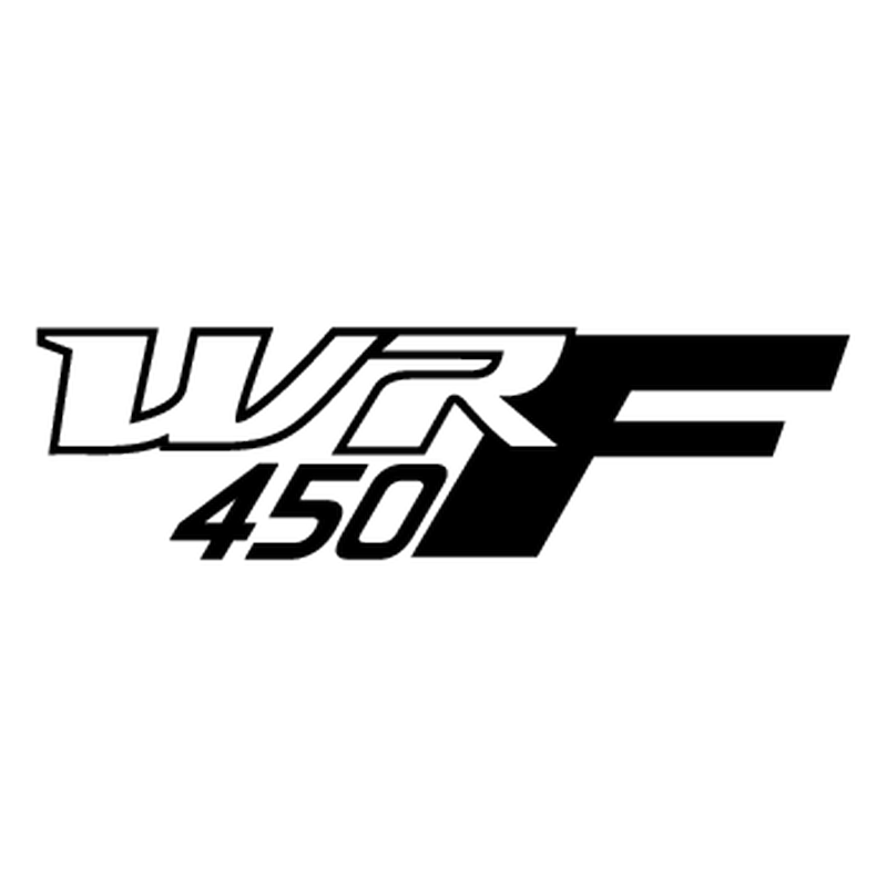 Yamaha WRF 450 logos motocycle Decal