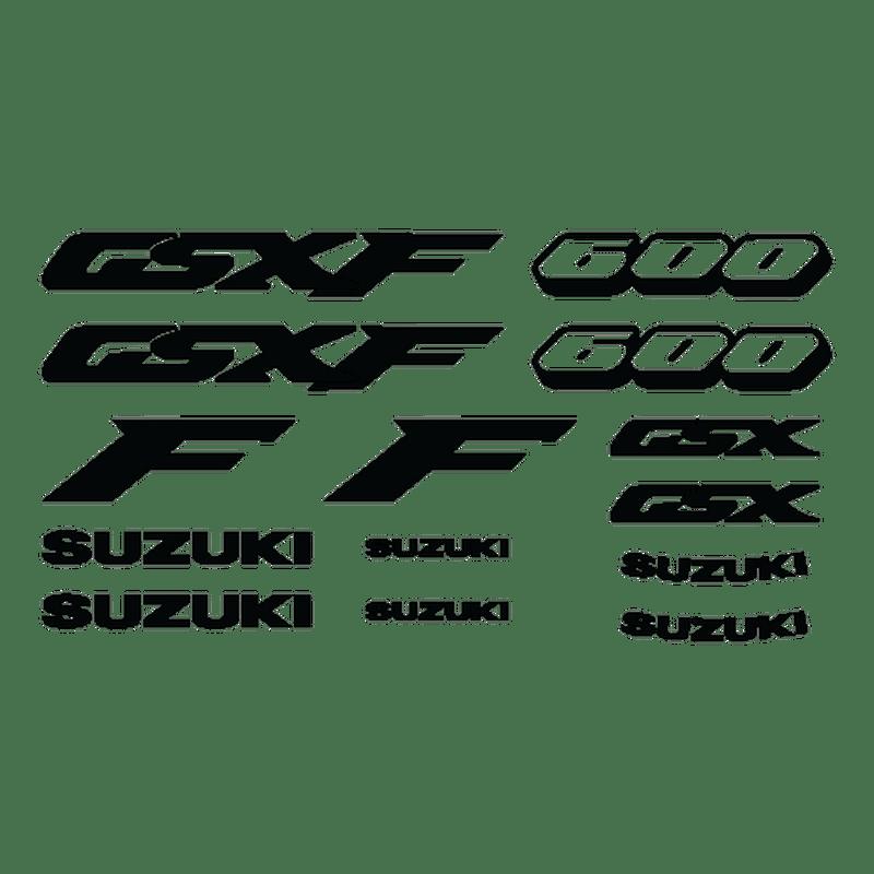Kit stickers SUZUKI 600 GSX F