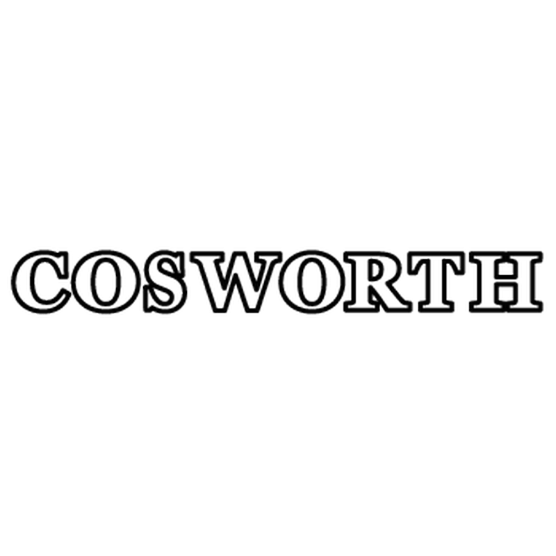 Ford Cosworth Logo Decal