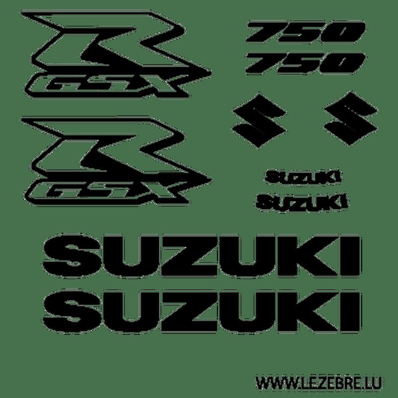 Kit autocollants Suzuki GSX R 750