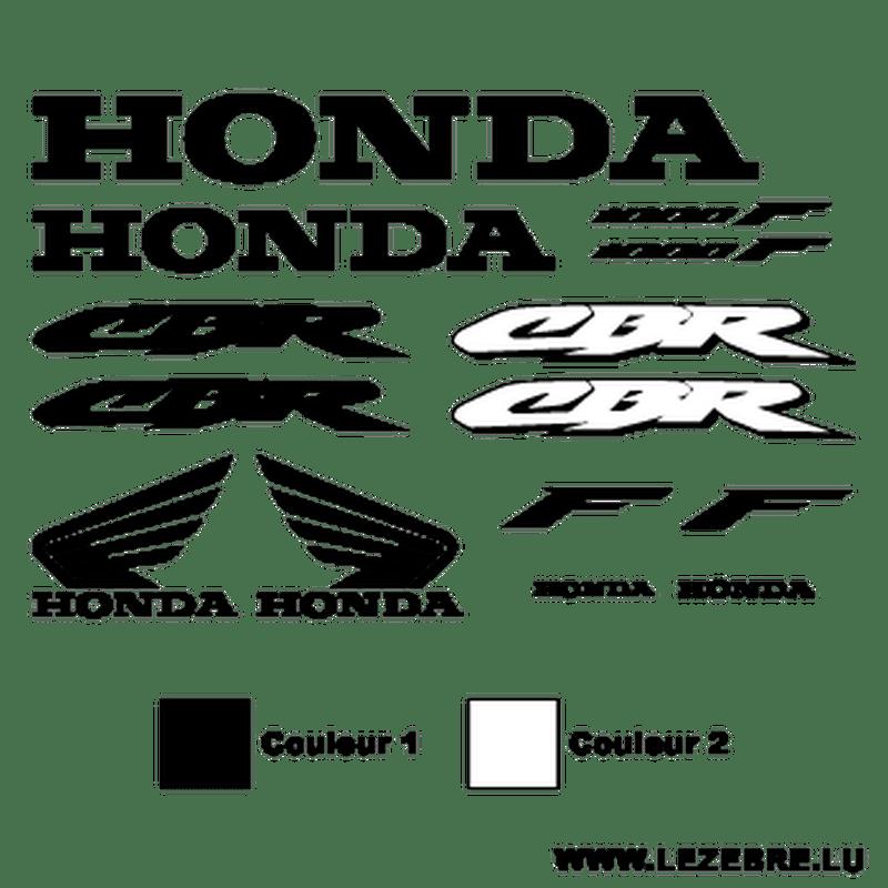 Kit Stickers deco Honda CBR 1000F
