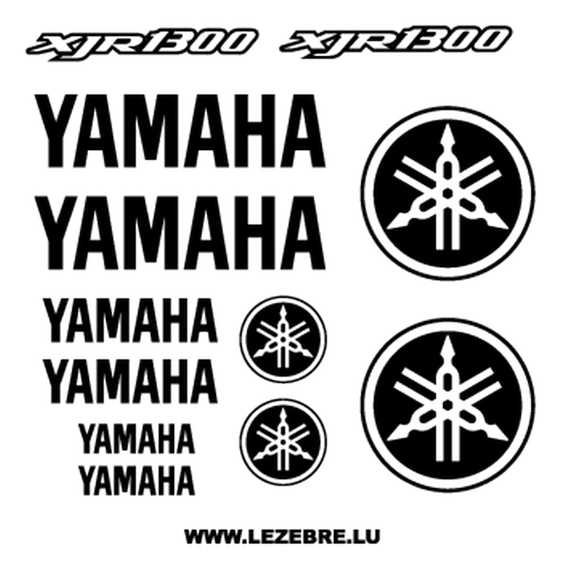 Kit Stickers Yamaha XJR 1300