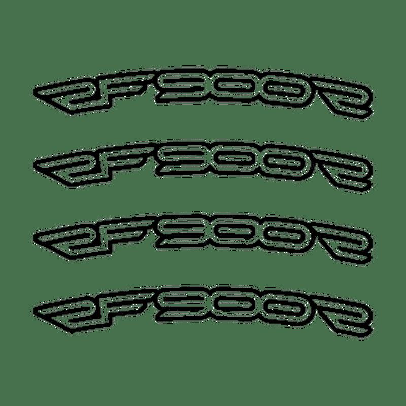 Suzuki RF 900 F rim decals set