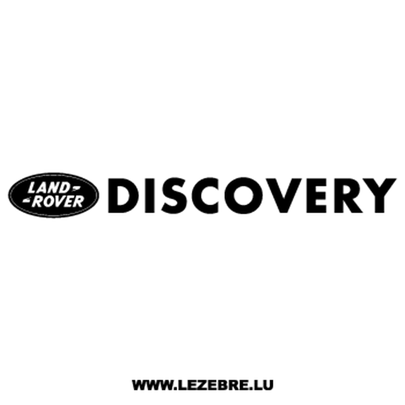 Land Rover Discovery Decal