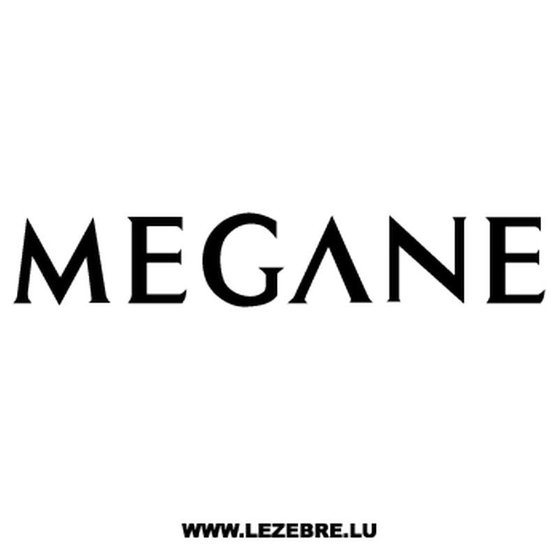 Sticker Renault Mégane