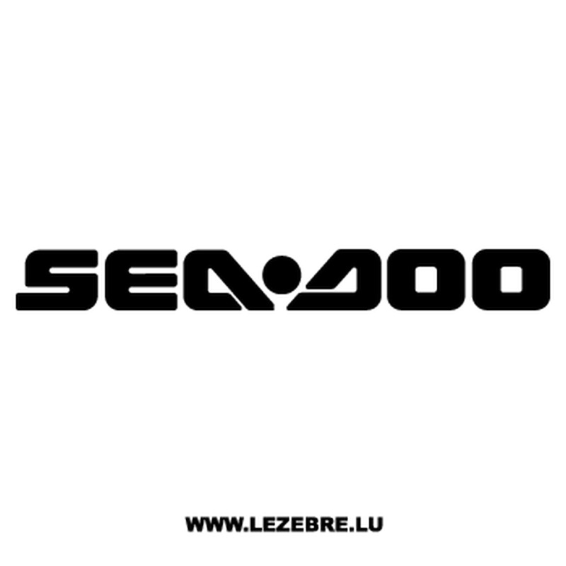 Sea Doo Logo Decal 2