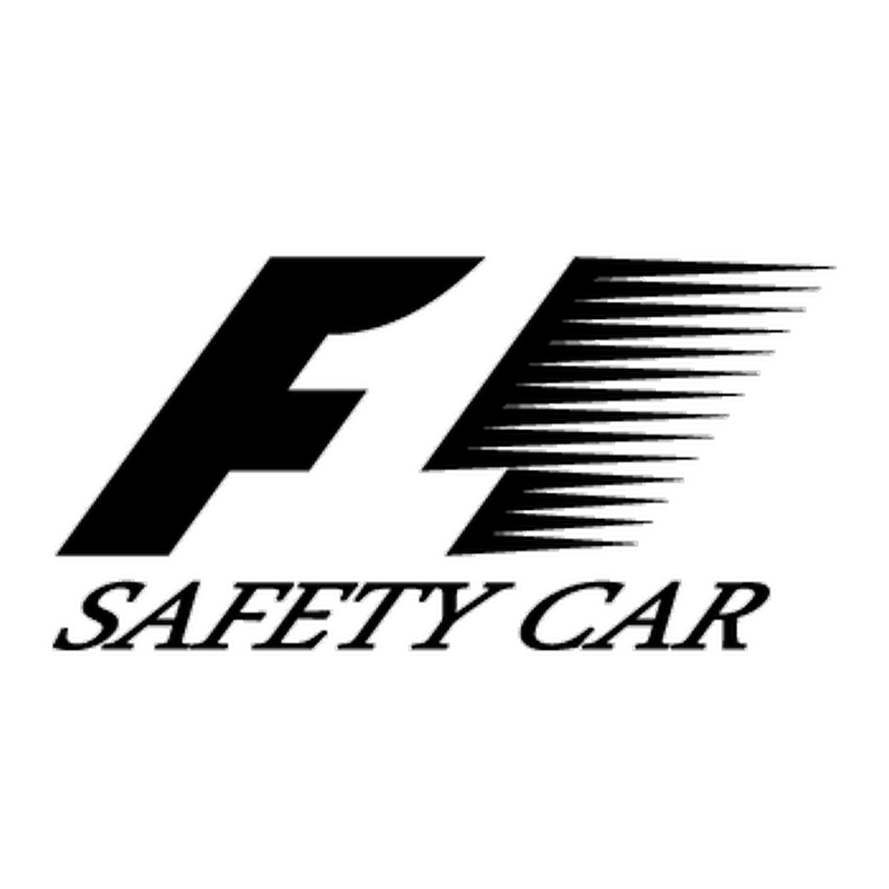 Sticker Formule 1 F1 safety car