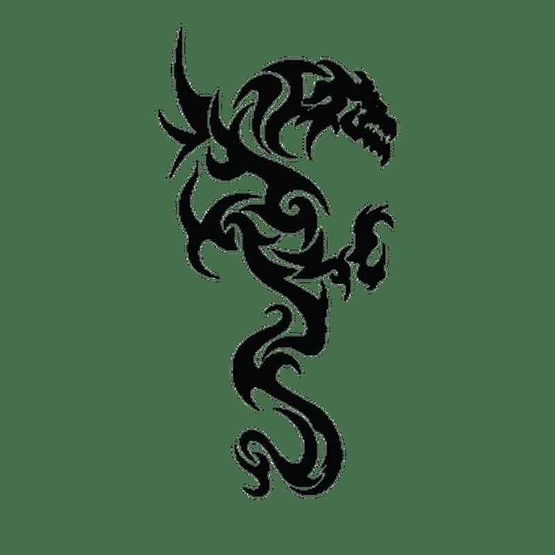 Dragon Camping Car Decal 26