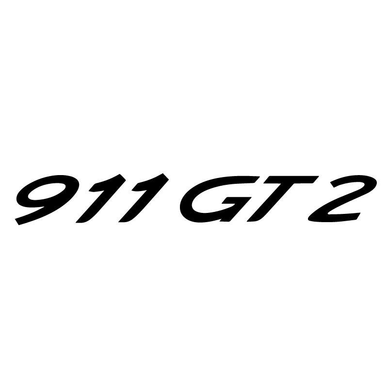 Sticker Porsche 911 GT2