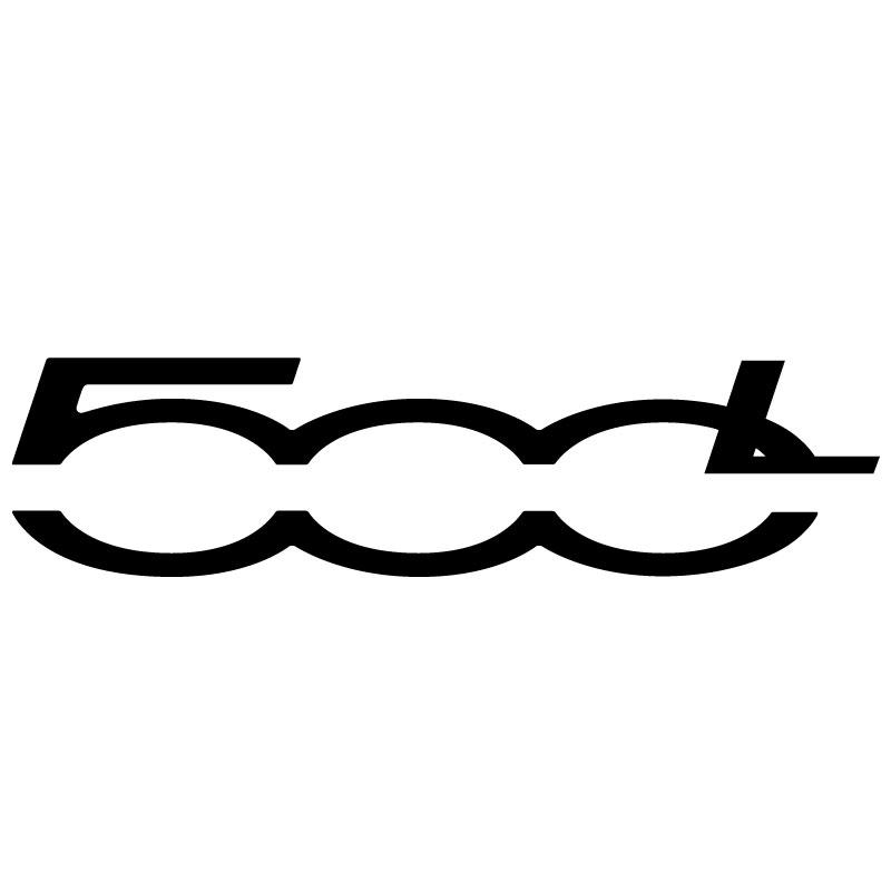 Sticker Fiat 500L Logo