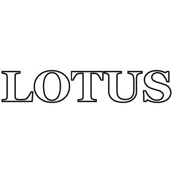 Lotus cars Logo Decal