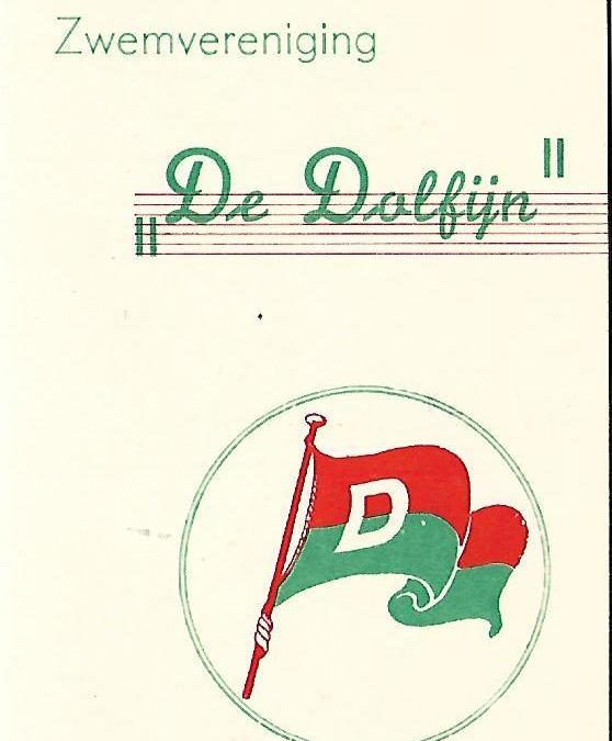 Lidmaatschapskaart – De Dolfijn (1956)