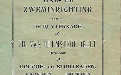 Brochure – NV Bad- en Zweminrichting Th. van Heemstede Obelt (1904-1911)