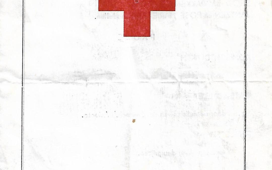 Programma – Roode Kruis Zwemfestijn 1957