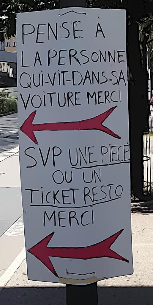 SDF à Lyon