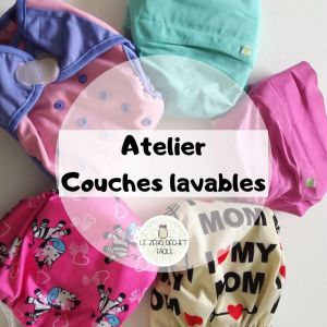 Atelier Couches lavables