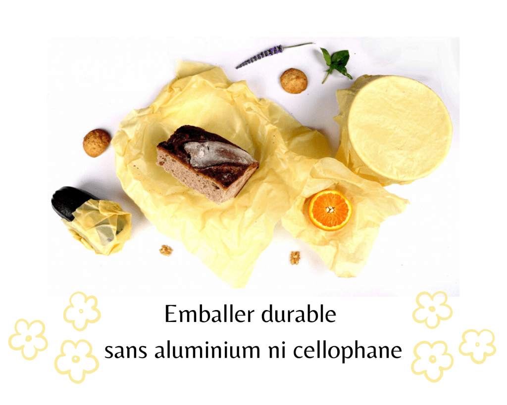 Emballer durable sans aluminium ni cellophane