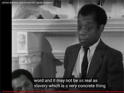 "James Baldwin and America's ""racial problem"" (15:29-16:16)"