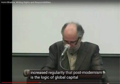 Homi Bhabha: Writing Rights and Responsibilities (23:26-24:24)