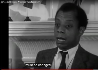 "James Baldwin and America's ""racial problem"" (14:45-15:06)"