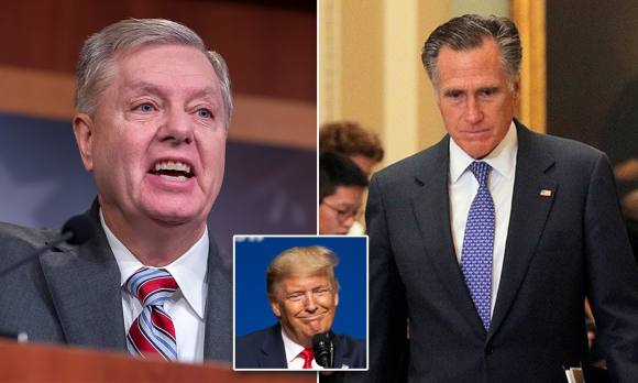 Lindsay Graham mocks Mitt Romney as the senator insists God won't ...