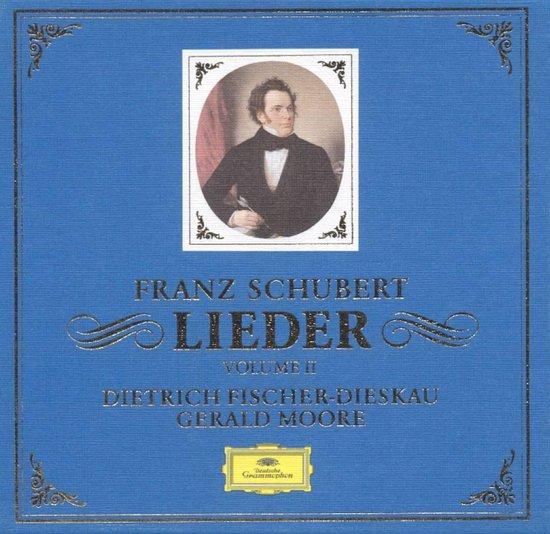 bol.com | Schubert: Lieder Vol II / Fischer-Dieskau, Moore, Dietrich Fischer -Dieskau | CD...