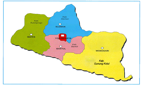 Peta Buta Yogyakarta