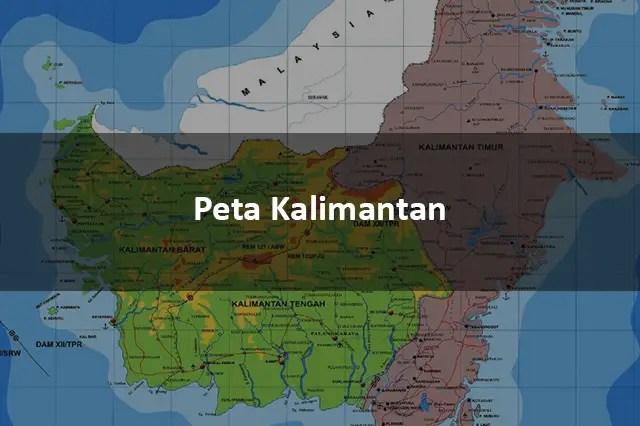 Peta Kalimantan