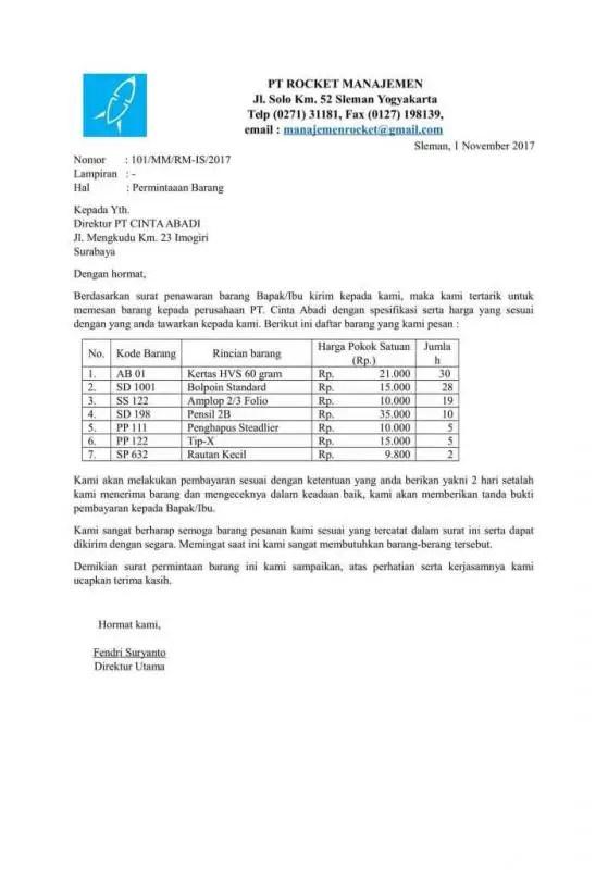 Contoh Kop Surat Untuk Event Tertentu