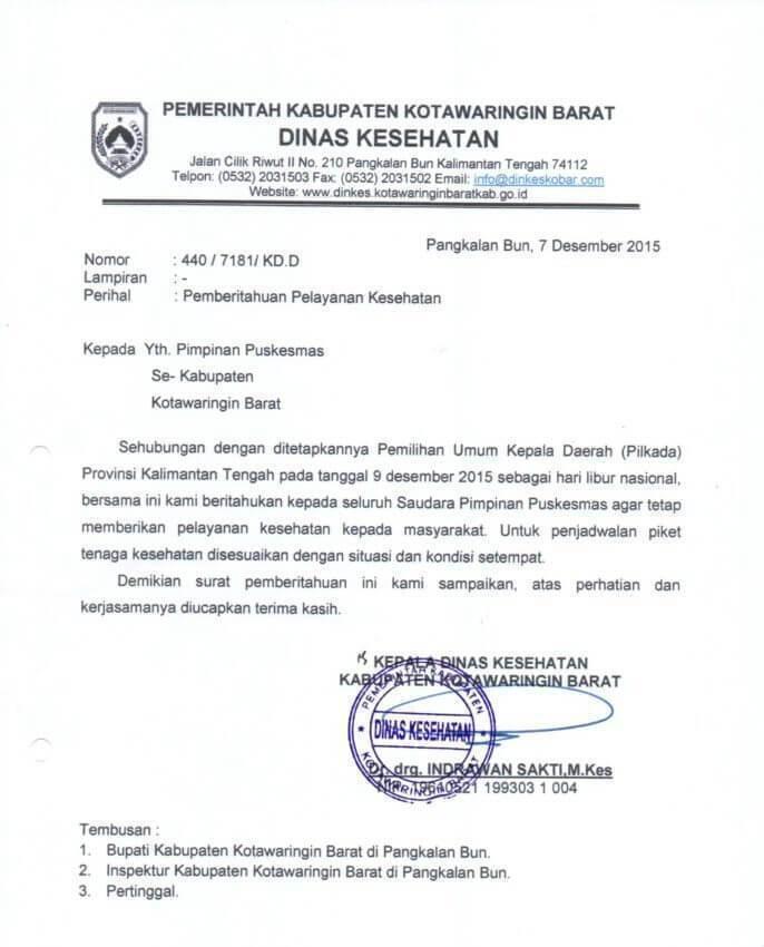 Contoh Surat Dinas Pengajuan Bantuan Operasional Sekolah