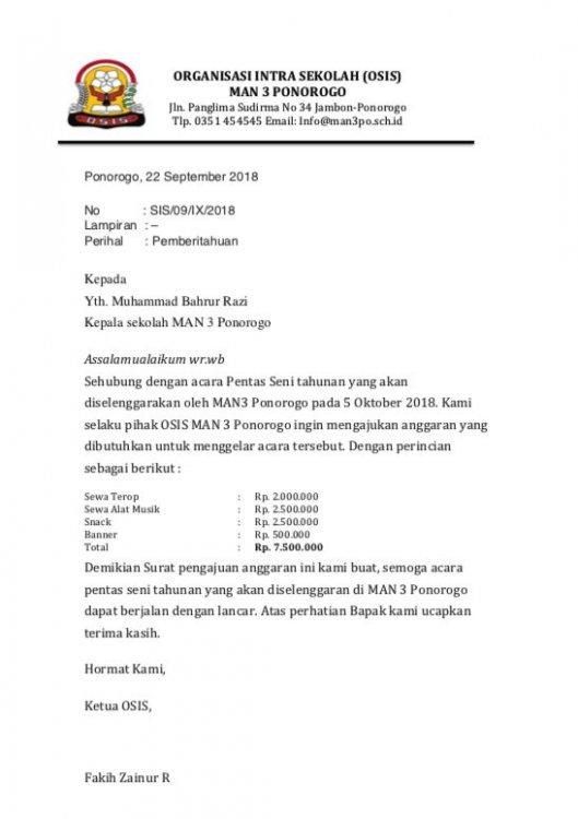 Contoh Surat Dinas Pengangkatan Karyawan