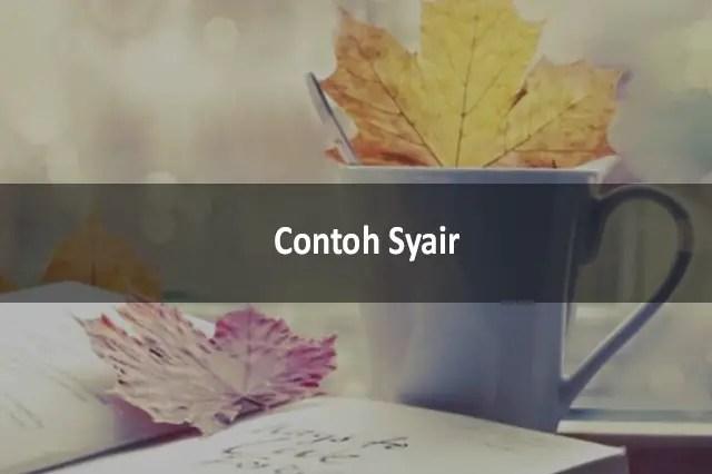 Contoh Syair