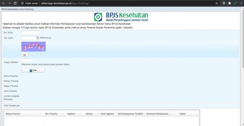 Cara Cek Tagihan BPJS Kesehatan Perusahaan Online