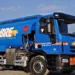Camion de livraison Fabre Fioul