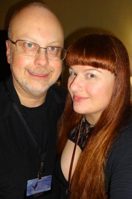 Robert J. Sawyer & Lezli Robyn—Norwescon (Seattle, Washington)