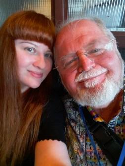 Lezli Robyn & Larry Niven—Balticon (Baltimore, Maryland)