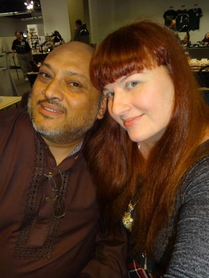 Shahid Mahmud & Lezli Robyn—Boskone (Boston, Massachusetts)