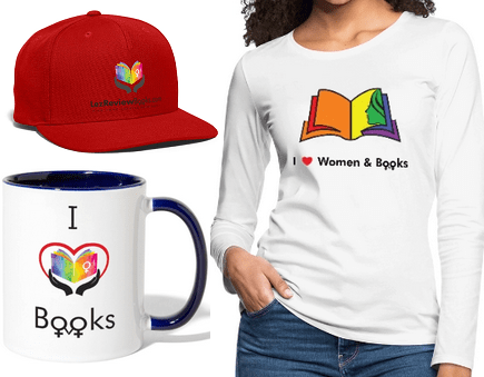 Merchandise for women who love women and books