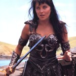 Xena - Warrior Princess, hero of Greece, and according to her actor, married to Gabrielle.