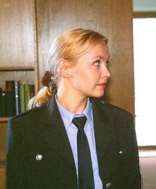 """Bea Hansen - A guard in love with a criminal (Christine), Beate """"Bea"""" Hansen dies of injuries froman explosion."""